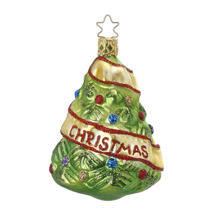 European Ware Haus Gingerbread World Glass Christmas Ornament – Inge-Glas Newly Wed Christmas Tree