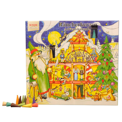 European Ware Haus Knox Incense Cone Advent Calendar