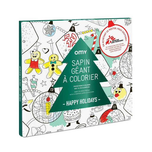 European Ware Haus OMY Activity Advent Calendar - Giant Colouring Poster
