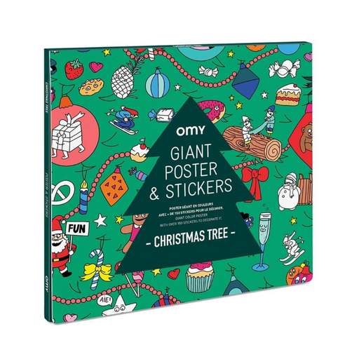European Ware Haus OMY Activity Advent Calendar - Giant Sticker Poster - in package