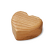 European Ware Haus Waldfabrik Canada Wooden Heart Shaped Jewelry Box WF4557