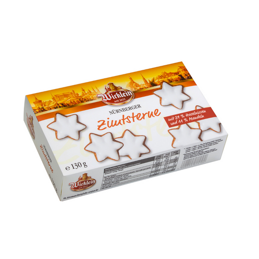 Wicklein Lebkuchen Cinnamon Star Cookies