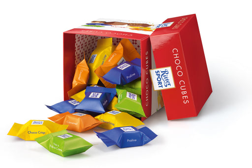 Gingerbread World Ritter Sport Choco Cubes. German Chocolate Christmas Treats