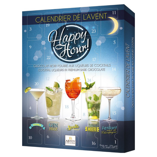 Gingerbread World Abtey Happy Hour Liqueur Chocolate Advent Calendar