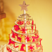 Gingerbread World European Christmas - Spira Wooden Christmas Tree with Star Topper