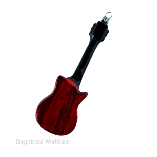 Gingerbread World European Ware Haus - Hanco Glass Ornament Electric Guitar - H260001