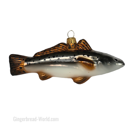 Gingerbread World European Ware Haus - Hanco Glass Ornament Fish H176901