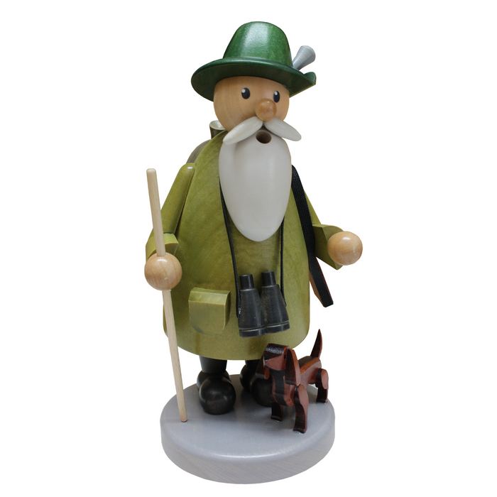 Gingerbread World Gahlenz Holzkunst Smoker Figure - Forester G16522