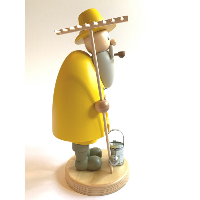 Gingerbread World Gahlenz Holzkunst Smoker Figure - Gardener G16562
