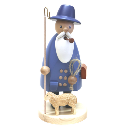 Gingerbread World Gahlenz Holzkunst Smoker Figure - Shepherd G16572