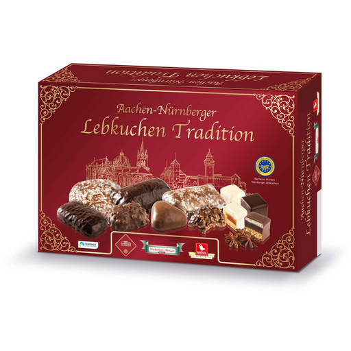 Gingerbread World Henry Lambertz Traditional Lebkuchen Assortment