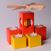 Gingerbread World Modern Pyamid and Candle Holders Kleinvieh LBK102