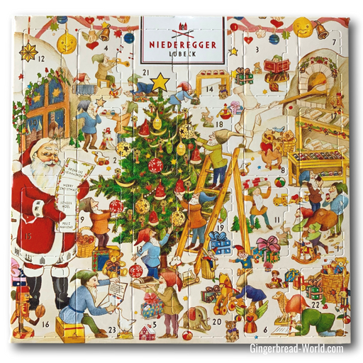 Gingerbread World Niederegger Marzipan Advent Calendar