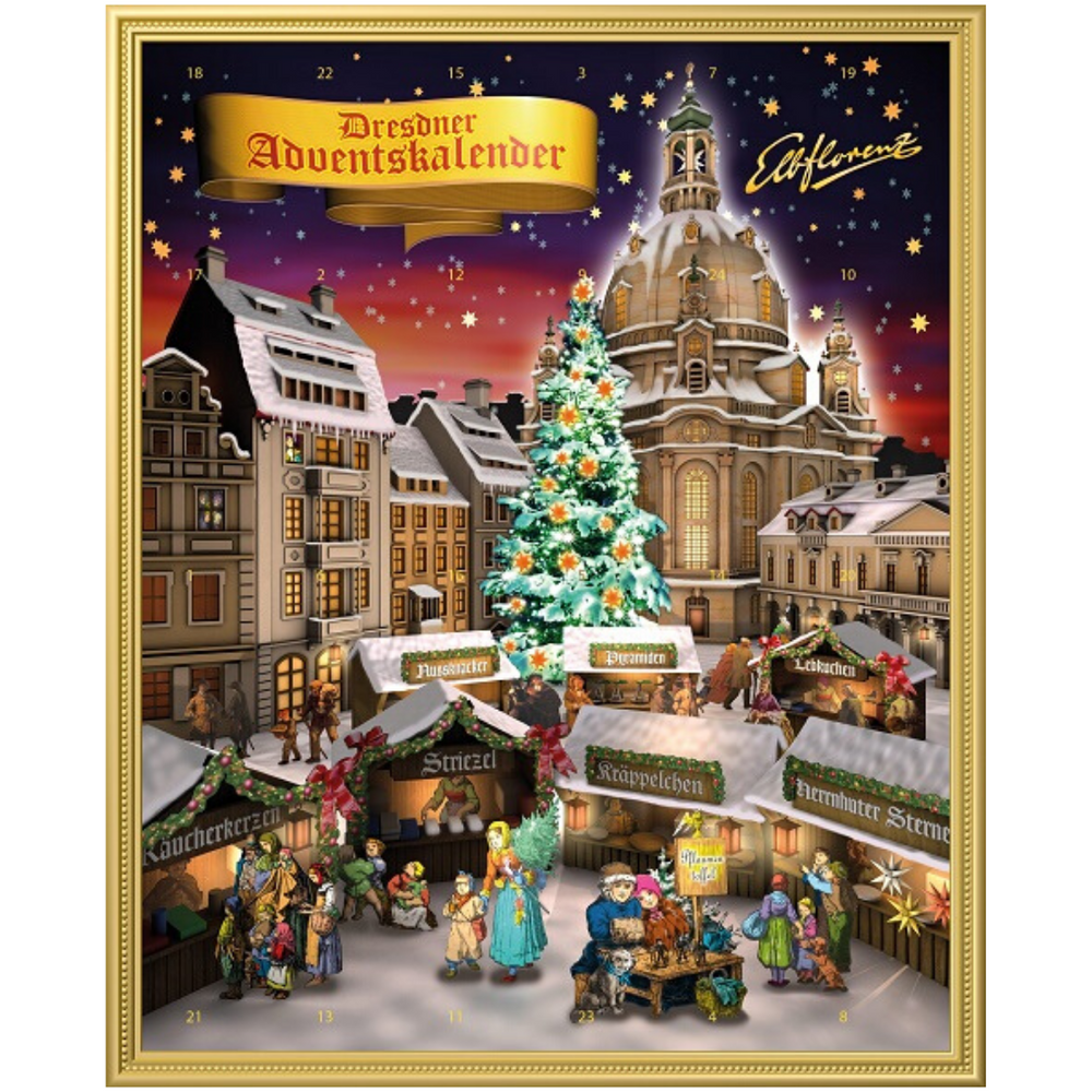 Gingerbread World Vadossi Dresdner Stollen Bites Advent Calendar