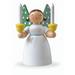 Gingerbread World Wendt and Kuehn Canada - Angel Holding Candles White WK528-2