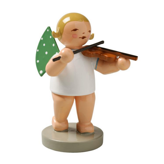 Gingerbread World Wendt and Kuehn Canada - Angel Standing with Violin WK650-2
