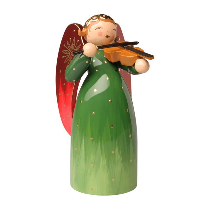 Gingerbread World Wendt and Kuehn Canada - Richly Painted Angel with Violin