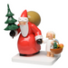 Gingerbread World Wendt and Kuehn Canada - Santa Claus with Tree and Angel WK5301-7