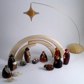 Bjorn Kohler Nativity Scenes for Christmas. Made in Germany. From Gingerbread World
