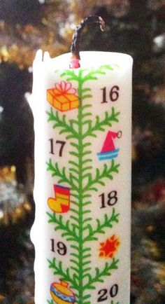 Gingerbread World Countdown Candle Advent Calendar