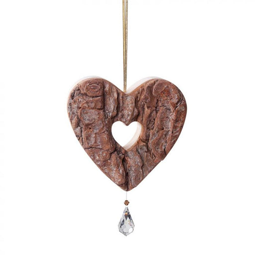 Waldfabrik Hanging Ornament - Heart with Crystal