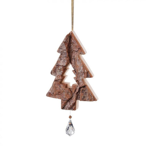 Waldfabrik Hanging Ornament - Christmas Tree with Crystal