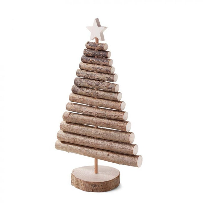 Waldfabrik Mini Wooden Christmas Tree with Decorations