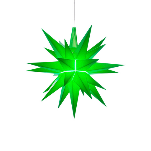 Gingerbread World Herrnhuter Stars Canada - 13 cm Plastic Star Green