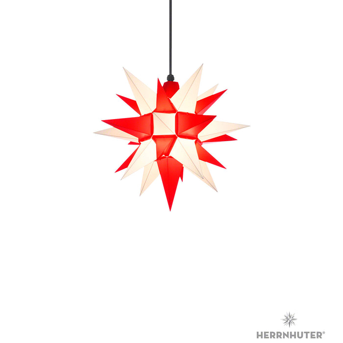 Gingerbread World Herrnhuter Stars Canada - 40 cm Plastic Star White Red