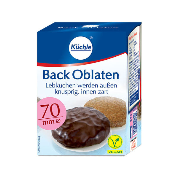 Küchle Backoblaten Lebkuchen Baking Wafers — Gingerbread World