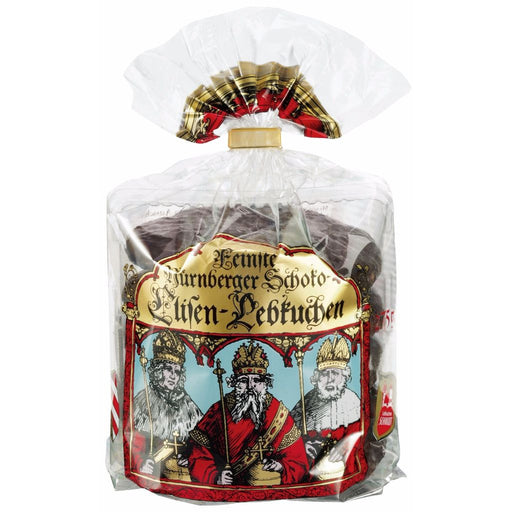 Gingerbread World Lebkuchen Schmidt Canada - Premium Elisen Lebkuchen Roll, Chocolate Glazed