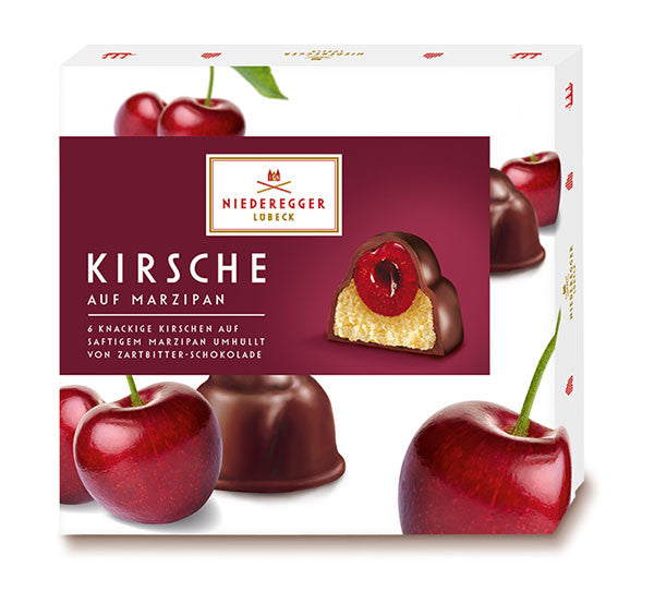 Niederegger Marzipan Cherry Pralines by Gingerbread World Canada