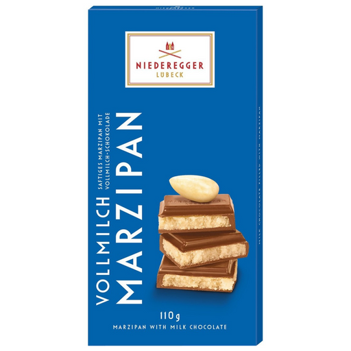 Gingerbread World Niederegger Milk Chocolate Marzipan Bar 110 g