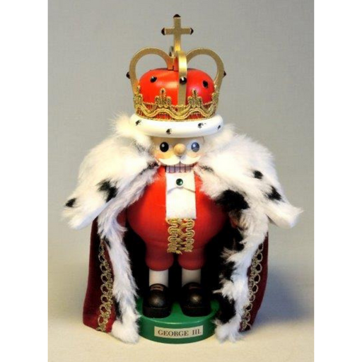 Gingerbread World Richard Glaesser German Nutcracker - King George III RG82625