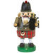 Gingerbread World Richard Glaesser German Nutcracker - Scotsman with Bagpipes RG12609