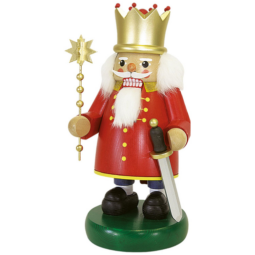 Gingerbread World Richard Glaesser German Nutcracker - The King RG12784
