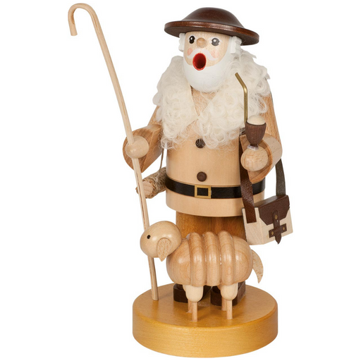 Gingerbread World Richard Glaesser German Smoker Figure - Shepherd RG26284
