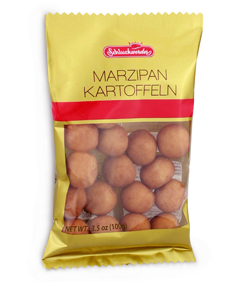 Gingerbread World Schluckwerder Marzipan Potatoes in Cello Bag
