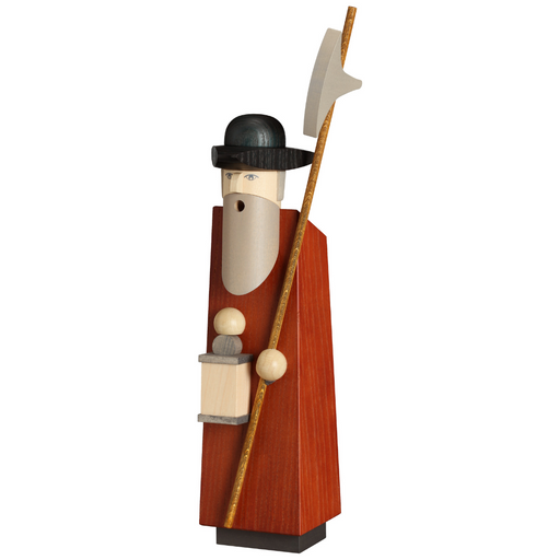 Gingerbread World Seiffener Volkskunst Christmas Limited Edition Smoker Figure - Watchman SV12902