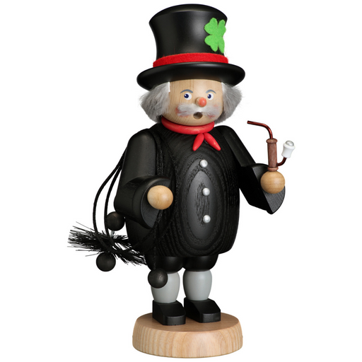 Gingerbread World Seiffener Volkskunst Christmas Smoker Figure - Chimney Sweep SV12651