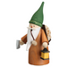 Gingerbread World Seiffener Volkskunst Christmas Smoker Figure - Gnome Wood Gatherer SV12322