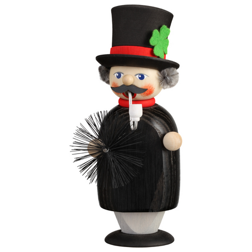 Gingerbread World Seiffener Volkskunst Christmas Smoker Figure - Small Chimney Sweep SV12251