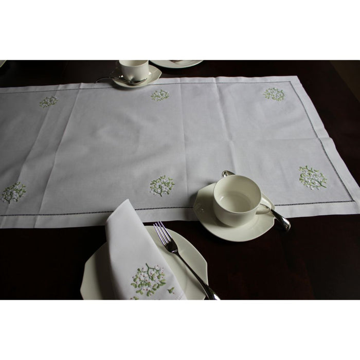 Exclusive to Gingerbread World - Christmas Table Linens 100% Cotton with hand-stitching