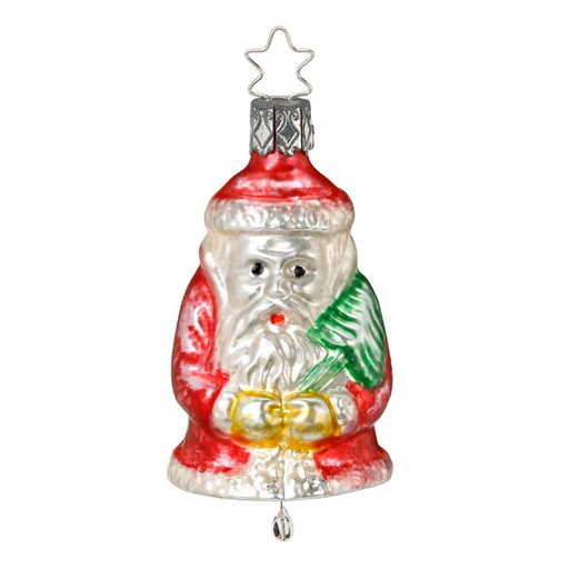 Inge-Glas Glass Christmas Tree Ornaments Canada - Niko Bell Vintage Santa