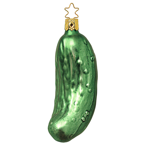 Inge-Glas Canada - Glass Christmas Ornaments -The Legendary Pickle
