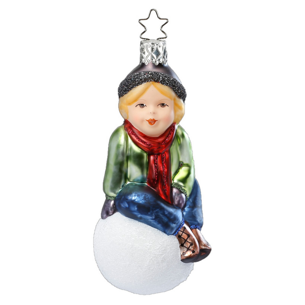 Inge-Glas Canada - Glass Christmas Ornaments - Cheeky Paul 2018 Annual Ornament