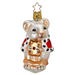 Inge-Glas Canada - Glass Christmas Ornaments - Christmas Mouse