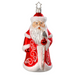 Inge-Glas Canada - Glass Christmas Ornaments - Classic Santa Frost