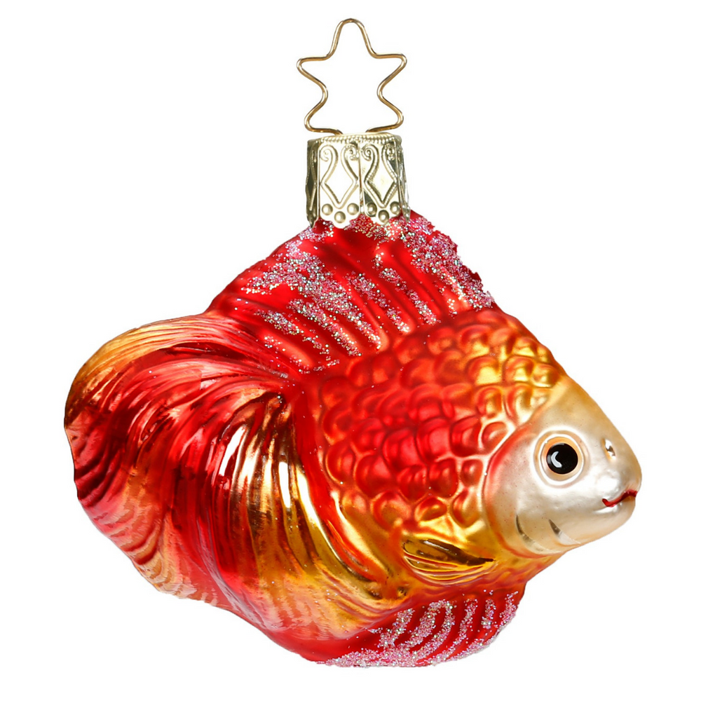 Inge-Glas Canada - Glass Christmas Ornaments - Goldfish