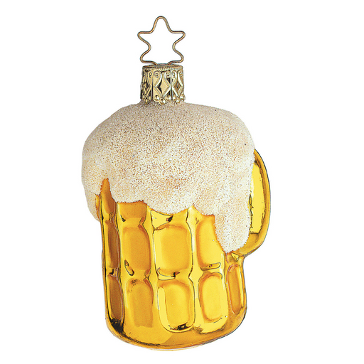 Inge-Glas Canada - Glass Christmas Ornaments - Last Call Beer Stein Ornament